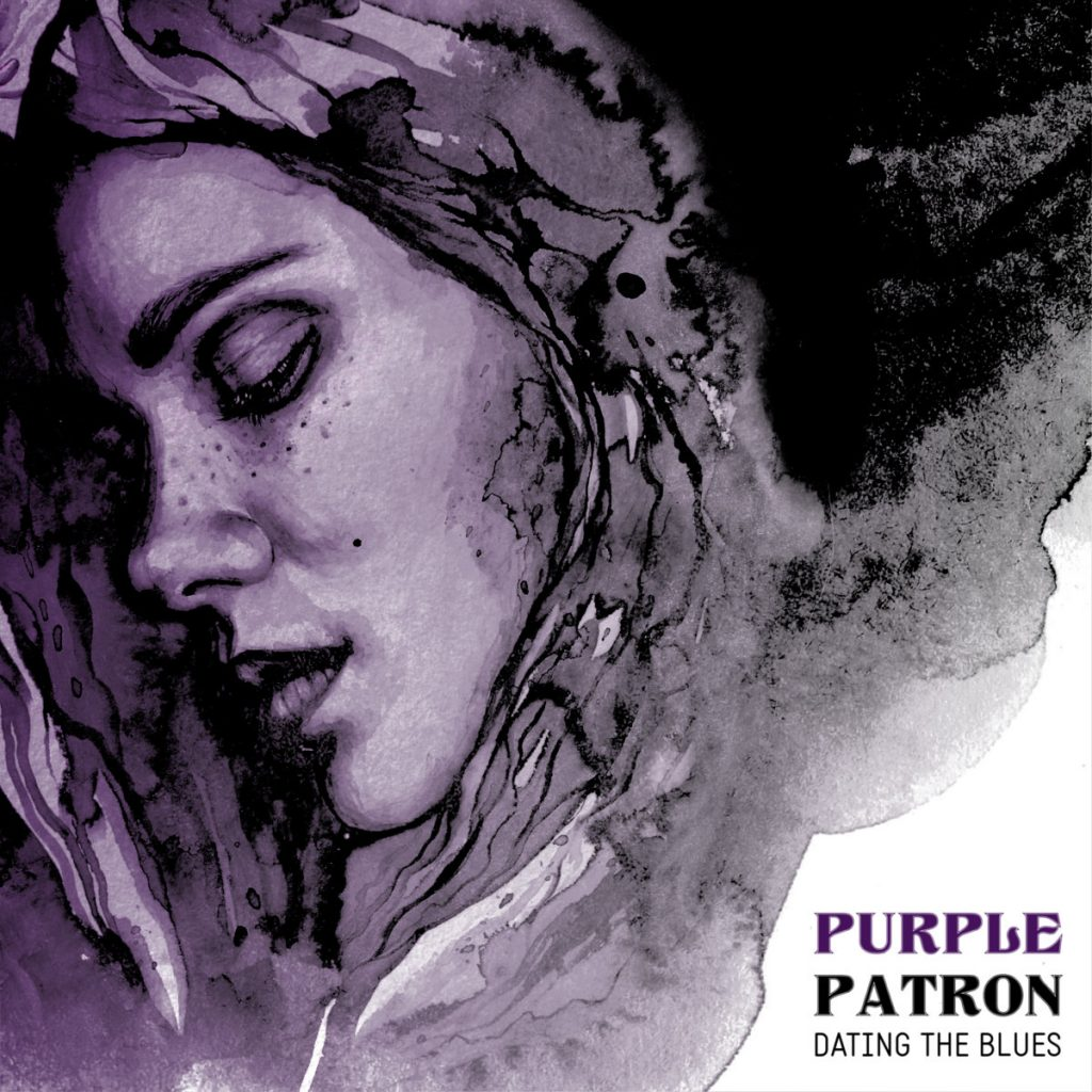 purple patron woman dating the blues